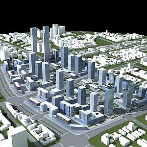 <font class='myIsRed'>城市</font>建筑群整體模型