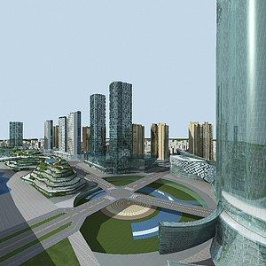 <font class='myIsRed'>城市</font>街道規劃整體模型