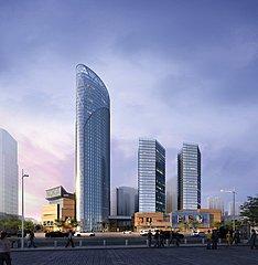 超现代商场大楼3D模型