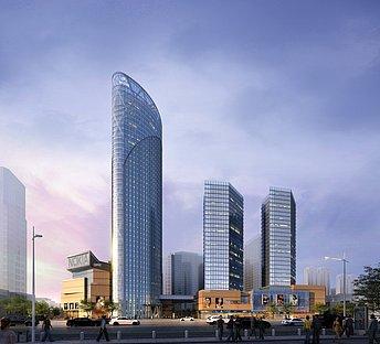 超现代商场大楼