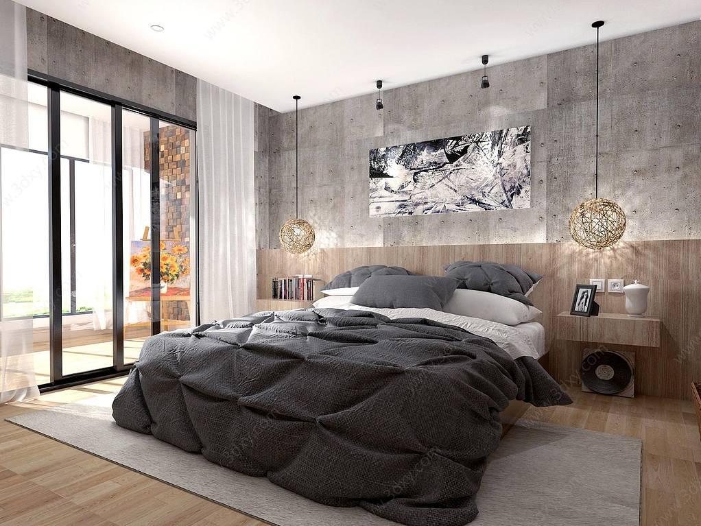 工业风格卧室