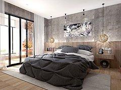 工业风格卧室3D模型