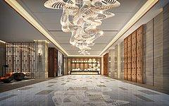酒店大厅3D模型