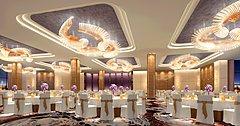 酒店会客厅3D模型