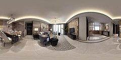 奢华客厅3D模型