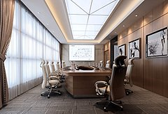 高级会议室3D模型