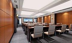 隔音会议室3D模型