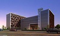 中医院建筑外观3d模型