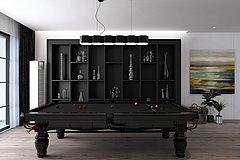 现代装饰柜摆件台球桌组合3D模型