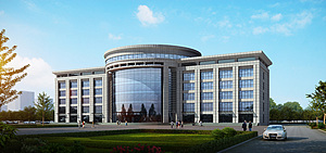 公建办公楼3d模型