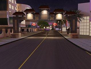 街道3d模型