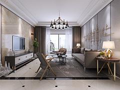 现代客厅,客厅,餐厅3D模型