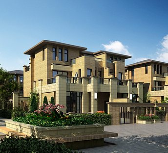 小区建筑设计