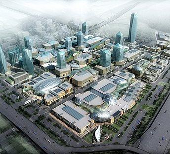 鸟瞰城市规划