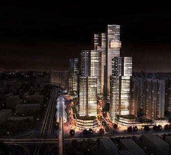 城市规划夜景