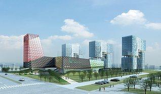 体育馆建筑3d模型