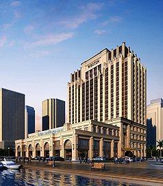 欧式大厦整体模型