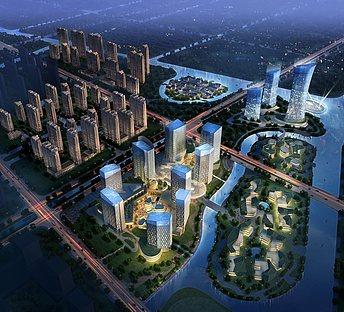 鸟瞰智慧城市
