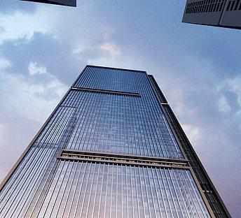 反光玻璃建筑