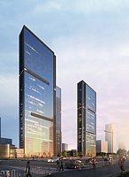 现代超精细大楼3d模型