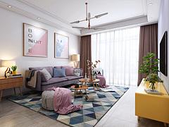 客厅,现代客厅3D模型