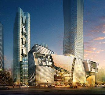 科技感商业大楼