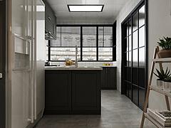 北欧厨房餐厅3D模型