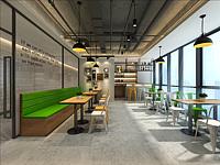 餐厅,员工餐厅,办公室餐厅3d模型