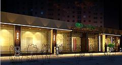 专卖店茶店3D模型