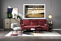 现代沙发茶几装饰柜挂画3d模型