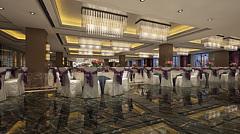 大型宴会厅3D模型