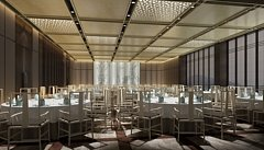 中式宴会厅3D模型
