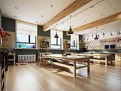 现代木工房3D模型