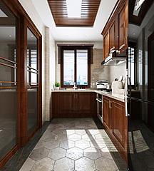 中式厨房3D模型