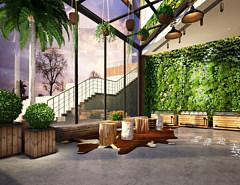 室内休闲区3D模型
