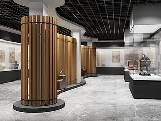 现代博物馆3d模型