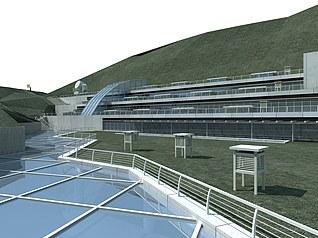 气象站3d模型