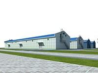 仓库,厂房3d模型