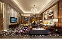 现代风格客餐厅3d模型