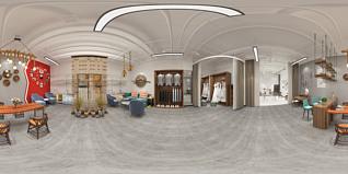 摄影棚工作室3d模型