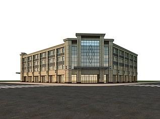 商业大楼3d模型