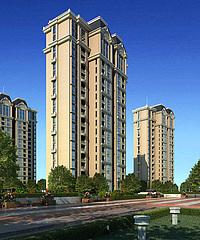 高层,室外,建筑,小区3D模型
