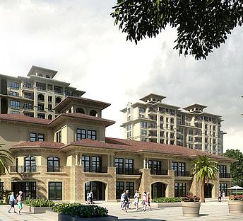 小高层,室外,建筑,广场