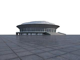 体育馆3d模型
