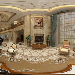 欧式别墅整体模型