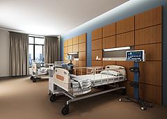 现代医院病房3D模型