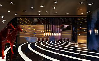 ktv大厅3d模型