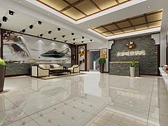 飯店大廳3D模型