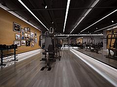 健身房瑜伽室3D模型