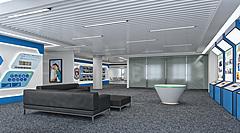 现代简约公司展厅3D模型